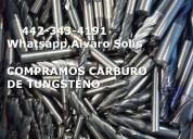 Compra y venta de carburo de tungsteno