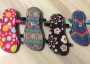 Suelas y sandalias para tejer