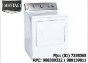 Reparacion de lavadoras y refrigeradores a domicilio maytag