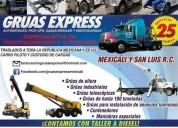 Gruas express de mexicali