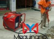 Renta de compresor con rompedores neumáticos