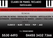 Clases de piano u teclado para jÓvenes y adultos