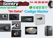 Sentry safe aperturas