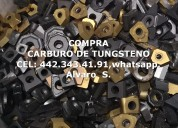 Compra scrap de carburo de tungsteno