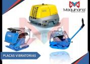 Venta de placas vibratorias
