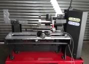 Maquina para reparar rines enderezadora de rines