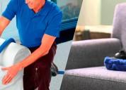 Lavado desinfectado de alfombras salas colchones