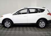Toyota rav4 blanca 05 puertas aÑo 2015