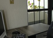 Renta tu oficina totalmente equipada