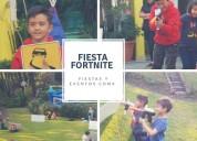 Fiesta de fortnite para niños
