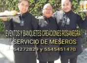 Servicio de meseros