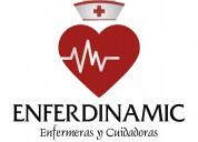 Enfermeras y cuidadoras para hospital o domicilio