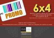 Ultimo dia de promocion de 6x4 en oficina virtual