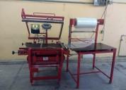 Maquina selladora de bolsas manual industrial