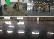 Pulidos abrillantados brillo espejo de concreto