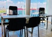 Renta de oficinas para 3 personas