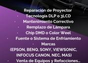 Servicio tecnico para tu videoproyector