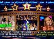 Cursos infantiles d actuacion modelaje canto baile