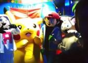 Show en vivo de pokemon botarga