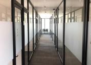 oficinas amuebladas con excelente ubicación!