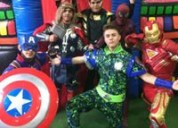 El mejor show en vivo de avengers