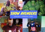 El mejor show para tus eventos show de los evenger