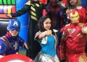 Espectacular show en vivo de avengers