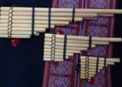 Venta de instrumentos musicales andinos