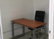 Oficina disponible y amueblada