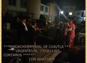 Mariachis en cuernavaca | 735 3611367 | mariachis