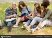 Clases para estudiar becado / noruego, danés, suec