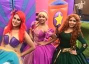 Princesa show en vivo imitación