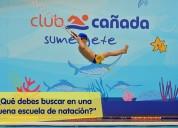 Escuela de natación club cañada san jeronimo