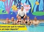 Escuela de natación club cañada santa fe
