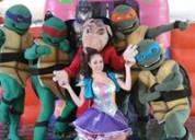 Las tortugas ninja en un gran show