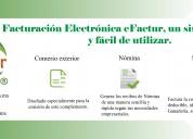 Facturación Electrónica en línea.