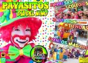 Payasos y payasitas para dia del niÑo - 5571723692