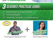 Taller para principiantes en finanzas bases matemá