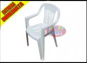 Venta de silla de plastico apilable milan