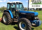 Tractor ford 7840 modelo 2000