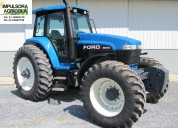 Tractor ford 8670 modelo 2000