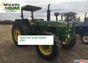 Tractor john deere 2755 modelo 1992