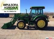 Tractor john deere 5075m modelo 2009