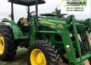 Tractor john deere 6100d modelo 2011