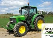 Tractor john deere 6420s modelo 2007