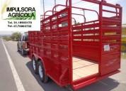 remolque ganadero para 3 toneladas 2017