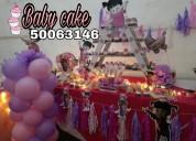 Increíbles mesas de dulces para tus eventos