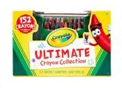Etiqueta botes de crayola en casa