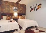 Renta una suite doble por noche o semana