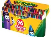 Etiqueta cajas de crayola